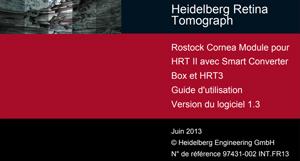 Guide d'utilisation HRT3