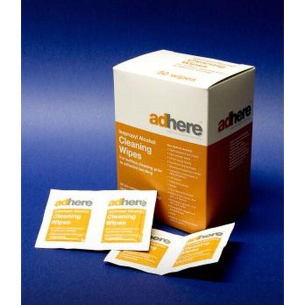 Lingettes nettoyantes, alcool Isopropylique 1
