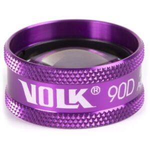 90D VOLK - Verre d'examen non contact - Purple Ring 7