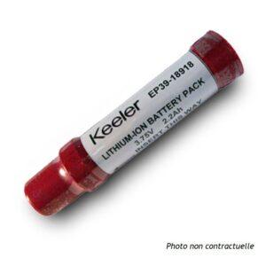 Batterie Keeler pour lampe à fente portative PSL 6