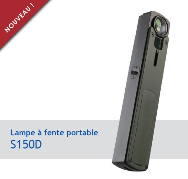 Lampe à fente portable S150D
