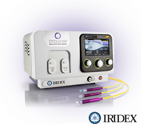 Laser Glaucome Cyclo G6 Iridex