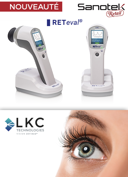 Electroretinogramme LKC RETeval