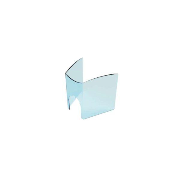 Protection plexiglas restaurant table ronde anticovid 53,9x50cm Germprotect 1