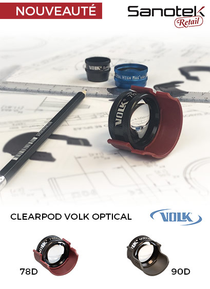 Clearpod anti buée Volk Optical