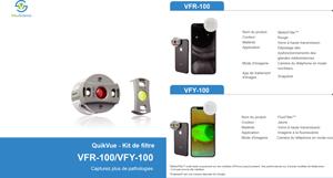 Brochure filtres adaptateur QuikVue